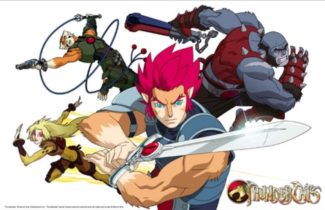 Thundercats Series on The New Thundercats Series   Gab Can Fly