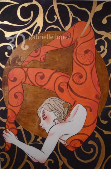 Greater Than That Of Athena, 2012, Acrylic & Varnish on Wood.