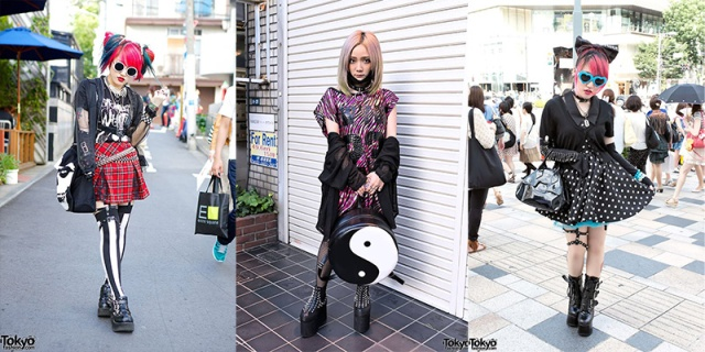 Aforementioned shit I am too old for. Via tokyofashion.com