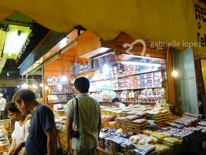 Favourite spice stall. We bought something from here almost every night!
