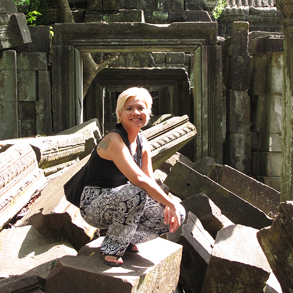 At Beng Mealea. Photo by Andy Lopez