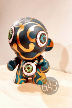 Bantay, custom Munny, Acrylic, 2012
