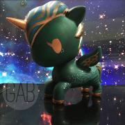 Hamako, custom Unicorno, Acrylic, 2015