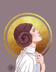 """""""Nuestra Señora de Alderaan"""", Digital, 2017"""
