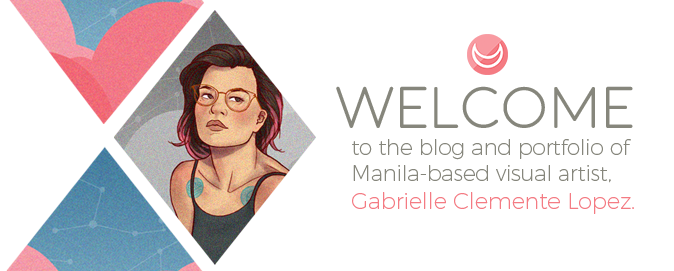 Welcome to the blog and portfolio of Manila-based visual artist, Gabrielle Clemente Lopez